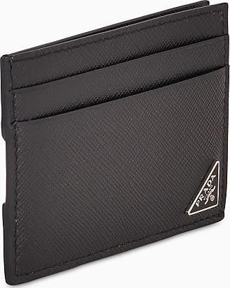 Prada Porta carte in pelle Saffiano Stile classico
