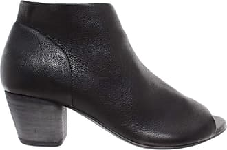 Officine Creative Womens Shoes Ankle Boots Heels Adele/001 Cervo B Nero Leather