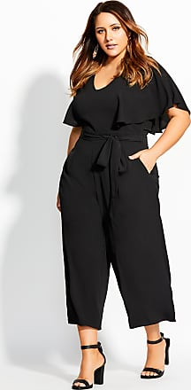 98577bb5d16c City Chic Romantic Jumpsuit - Black - Size 14 / XS by City Chic