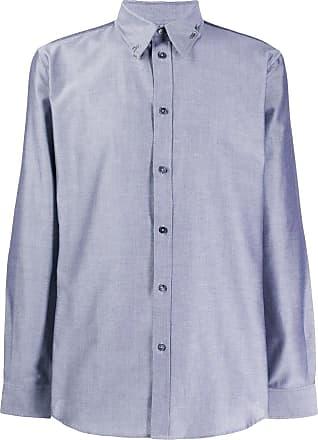 Givenchy Camisa com piercing - Cinza
