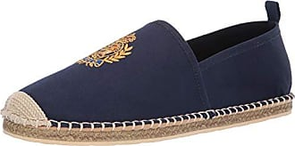 Polo Ralph Lauren Mens Barron Crest Slipper Navy 10.5 D US