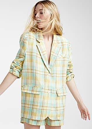 Icone Lemonade check jacket