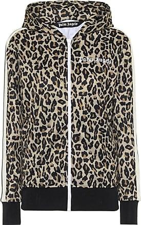 Palm Angels Leopard-print track jacket