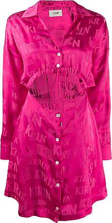 Kirin cut-out detail dress - PINK