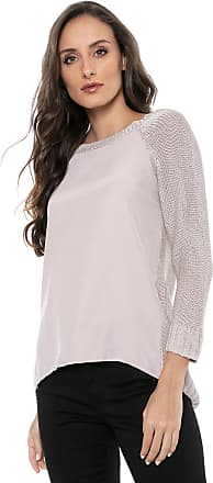 Amber Blusa AMBER Tricot Recorte Nude