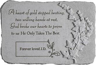 Kay Berry A Heart Of Gold Memorial Garden Stone - 44405