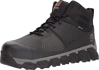 Timberland PRO Mens Ridgework Mid Industrial Boot Black 10.5 W US