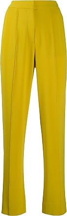 Diane Von Fürstenberg Calça Riya de crepe - Amarelo