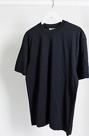 Collusion Unisex - Schwarzes T-Shirt aus Bio-Baumwolle