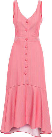 Canal Vestido Palito Color - Rosa