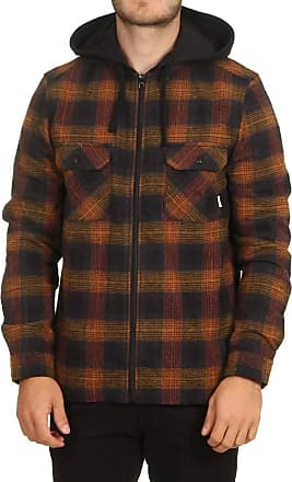 Element Wentworth Shadow Long Sleeve Shirt - Gold Brown