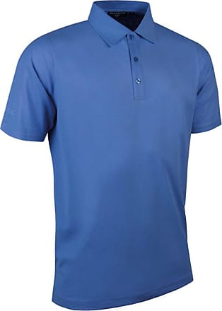 Glenmuir Mens MSP7373 Performance Pique Golf Polo Shirt Tahiti XXL