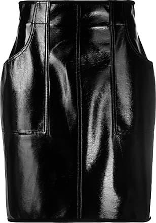Philosophy di Lorenzo Serafini high-rise leather-effect skirt - Black
