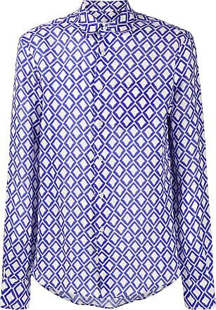 Peninsula Camisa Teulada estampada - Azul