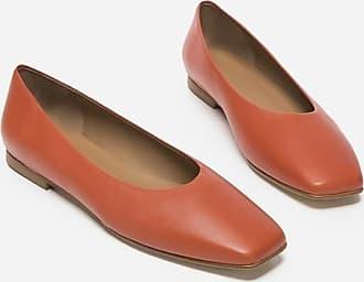 Flattered Nikki Leather Brick Red
