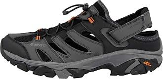 Hi-Tec Mens RAVUS Strike Shandal Hiking Sandals, Brown (Chocolate/Black/Dull Gold 79), 12 (46 EU)