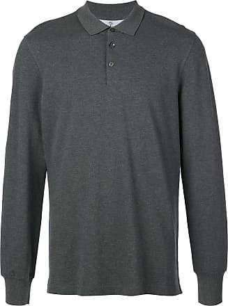 Brunello Cucinelli Camisa polo - Cinza