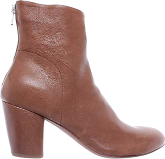 Officine Creative Womens Shoes Ankle Boots Julie /001 Cervo Sughero Leather New Beige