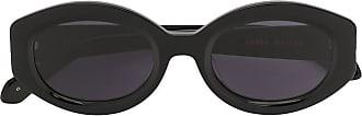 Karen Walker Bishop oval sunglasses - Black