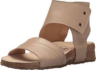 61ace4c6047b Haflinger Womens Maxine Sandal Taupe 39 M EU (8 US)