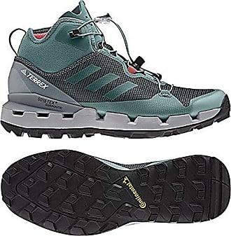hot sale online bf53e 64949 adidas outdoor Terrex Fast GTX-Surround Mid Hiking Boot - Womens BlackGrey  Five