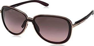 Oakley Womens Split Time Aviator Sunglasses, CRYSTAL RASPBERRY, 58.2 mm