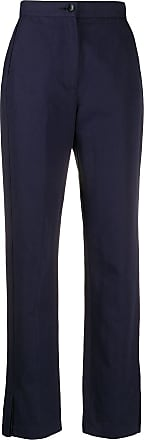 Ymc You Must Create high rise slim trousers - Blue