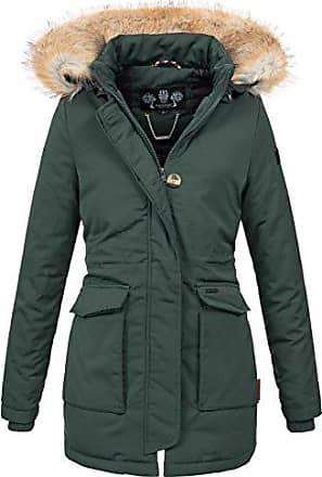 796f46fe8ff98 Navahoo Damen Winter Jacke Parka Mantel Winterjacke warm gefütterte Kapuze  B612 [B612-Schnee-