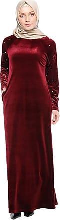 Zhuhaixmy Muslim Women Plus Size Maxi Dress Velvet Beaded Loose Robe Saudi Arabia Turkey Ethnic Clothing Islamic Church Prayer Abaya Long Sleeve Cocktail Kaftan