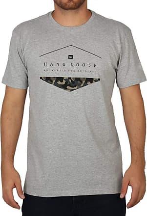 Hang Loose Camiseta Hang Loose Silk Camo Cinza