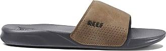 Reef Mens One Slide Flip Flops, Grey (Grey/Tan GTA), 6 UK