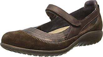 Naot Naot Footwear Womens Kirei Maryjane Burnt Copper Lthr/Cocoa Suede/Brown Shimmer Nubuck - 35 M EU