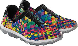 bernie mev. Flecht-Sneaker, Multicolor, Damen, aus Textil