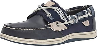 Sperry Top-Sider Womens Koifish Knit Boat Shoe, Navy, 095 W US