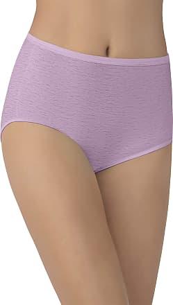 Vanity Fair Womens Illumination Brief Panty 13109, Lilac Breeze, Large
