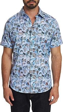 Robert Graham Mens King Solomon Short Sleeve Shirt In Size: 2XL by Robert Graham