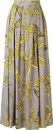 Ultra Chic butterfly print skirt - Grey