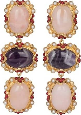Christie Nicolaides Allegra Earrings Pale Pink