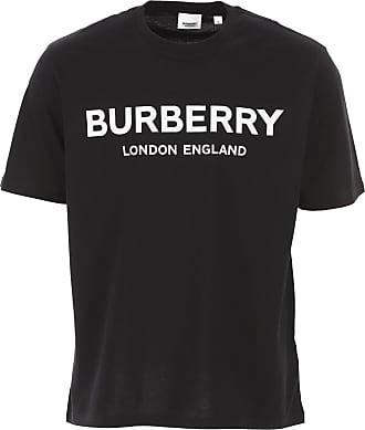 Burberry T-Shirts für Herren, TShirts Günstig im Sale, Schwarz, Baumwolle, 2019, L S XL XS XXXL