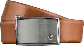9e06b1702538aa Bugatti Gürtel Herrengürtel Ledergürtel Automatikschließe Cognac 3156,  Farbe:Braun, Länge:90