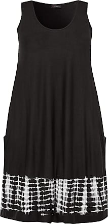 Yours Clothing Clothing Womens Plus Size Drape Pocket Dress Size 30-32 Black