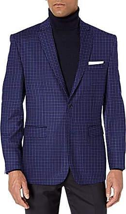 Vince Camuto Mens Flannel Two-Button Suit