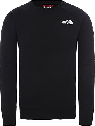 The North Face Raglan Redbox Sweatshirt Herren in tnf black-tnf white, Größe XXL