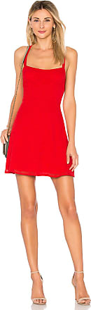 Superdown Makayla Star Mini Dress in Red