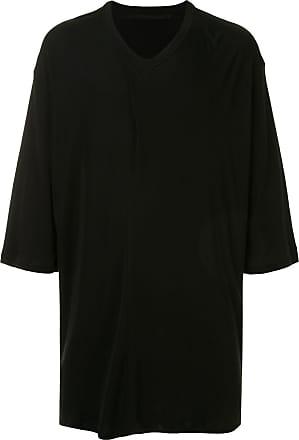 Julius Camiseta com modelagem solta - Preto