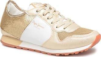 1039658ba4cd2c Pepe Jeans London Verona W Sequins - Sneaker für Damen   gold bronze
