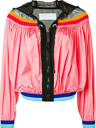 No Ka'Oi colour-block zipped jacket - Pink