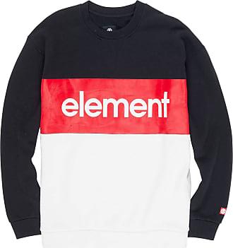 Element Primo Division Crew Sweater Small Flint Black