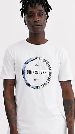 Quiksilver T-shirt bianca-Bianco