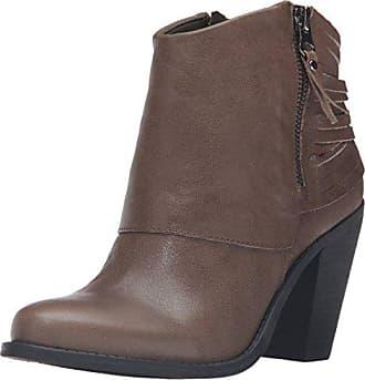 Jessica Simpson Womens Cerrina Ankle Bootie, Storm Taupe, 10 M US